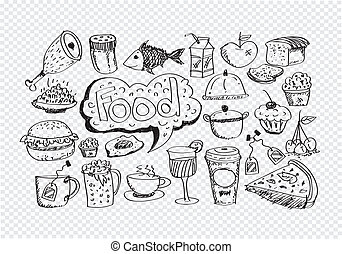 Food Icons Vector set