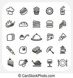 food ikona, dát
