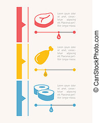 Food Infographic Element