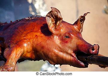 Food, meat, sucking pig