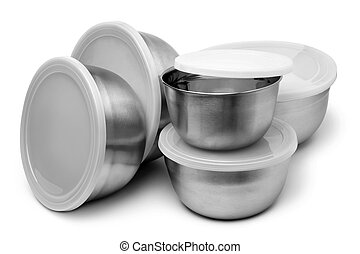 Food metallic containers