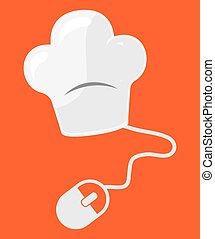food on line design, vector illustration eps10 graphic