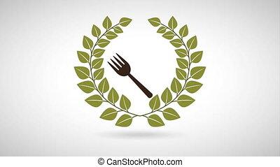Food Organic Design, Video animation