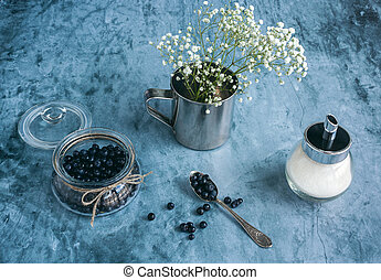 Food photo of blueberries