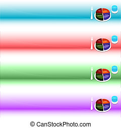 Food Plate Guide Banner Set