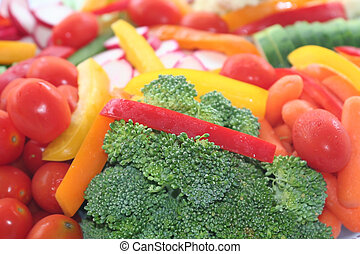Food platter - Vegetable platter