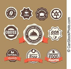 Food quality labels collection