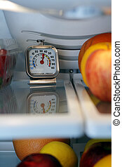 Food Safety - Refrigerator freezer temperature thermometer...