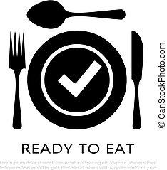 Food serving pictogram