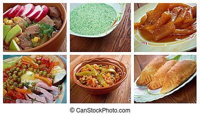 Latin American cuisine - Food set . southern food. Latin ...