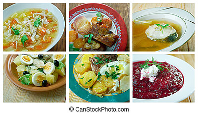 spanish and Portuguese traditional cuisine