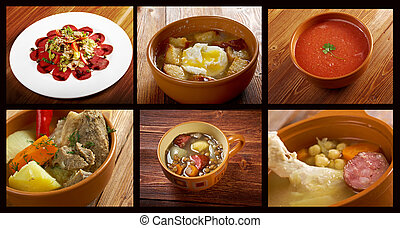 spanish traditional cuisine.