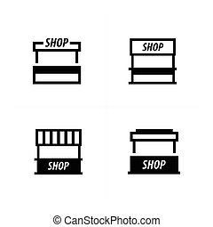 food trolley icons