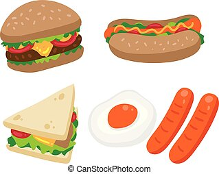 food vector collection design