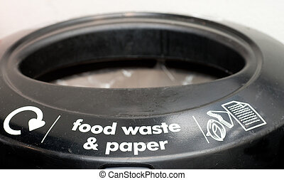 Food Waste and Paper Bin