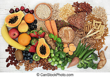 Food with High Fiber Content - Food with high fiber content...