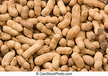 peanut - Foodstuff theme: background of peanut, food texture