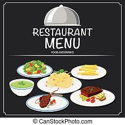 Foon on the restaurant menu