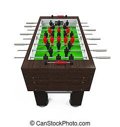foosball テーブル, ゲーム, サッカー