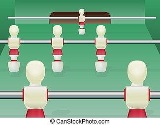 foosball テーブル, サッカー