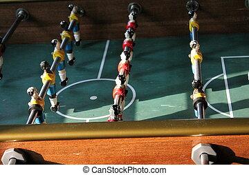 foosball, calcio, tabletop, football