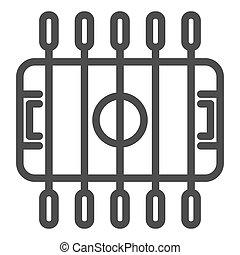 foosball, design., plano de fondo, contorno, tabla, concepto...