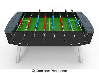 foosball table, jeu, football