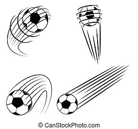 Foot Ball Symbol Set Collection