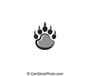 Foot bear icon