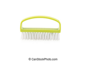 Foot brush isolated on white background