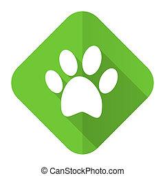 foot flat icon