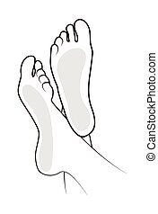 Foot illustration