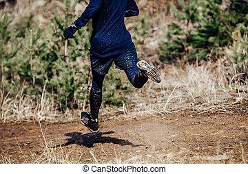 foot male runner