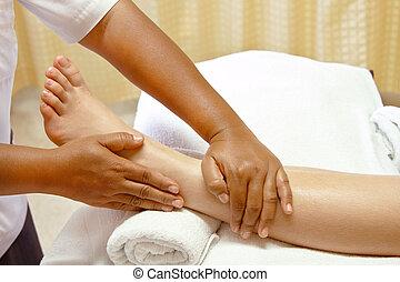 foot massage, spa foot treatment. - foot massage, spa foot...