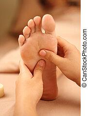 foot reflexology - reflexology foot massage, spa foot...