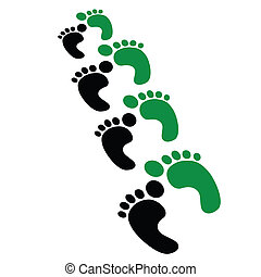 foot stepsprint
