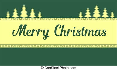 Footage for Merry Christmas background style