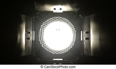 Footage of a high quality lamp closeup
