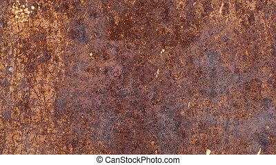 Footage old grunge metal texture background.