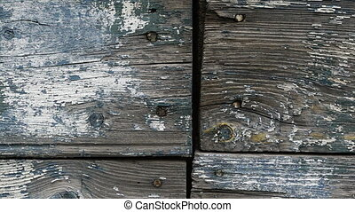 Footage retro wooden wall background texture. - Footage...