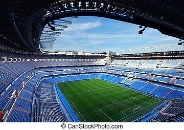 footbal stadium - real madrid gootball stadium