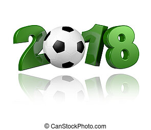 Football 2018 design