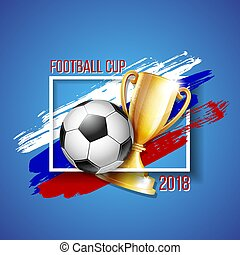 football 2018 world championship cup background