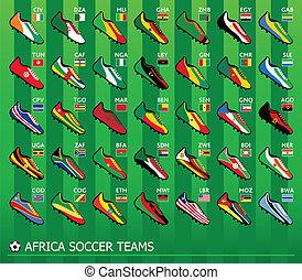 football, africaine, équipes