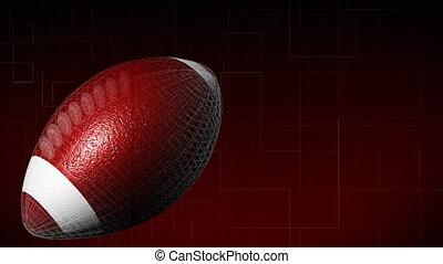 football américain, 3d