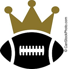 football américain, couronne