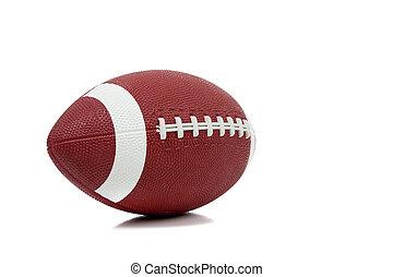 football américain, fond blanc