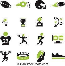 football américain, icônes