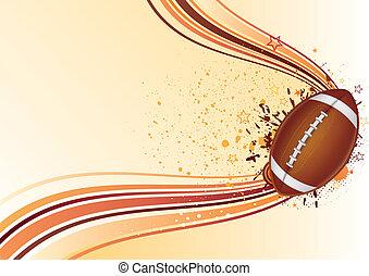football americano, fondo