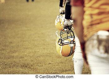 football americano, gioco